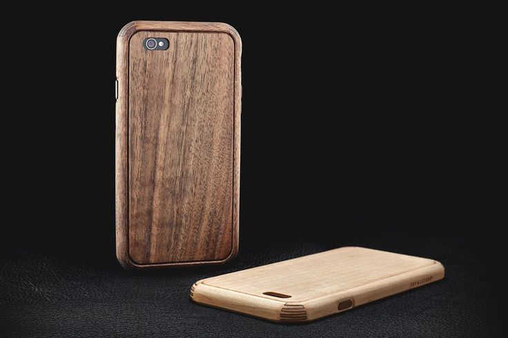 Beautiful walut & maple iPhone 6 cases