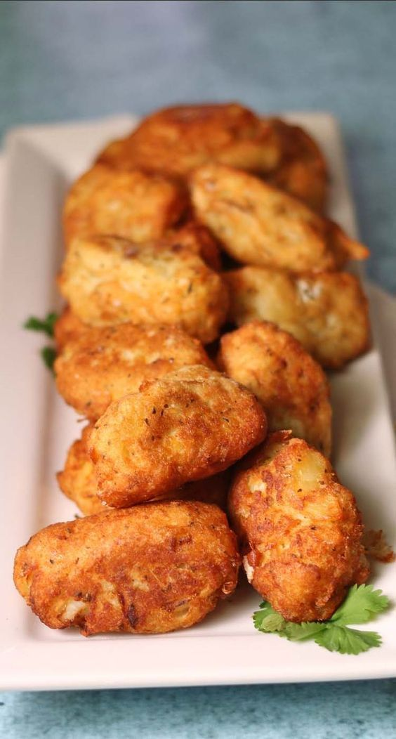 Portuguese Salt Cod Fritters #IsabelsBirthdayBash - Recipes Food and Cooking: