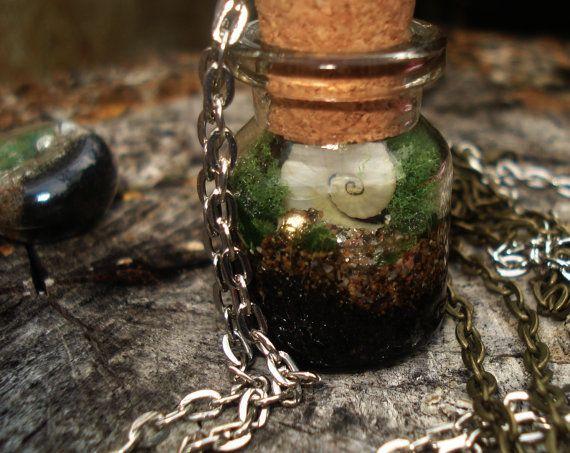 Wish bottle Terrarium Mini #Terrarium Wish bottle by DreamADesign