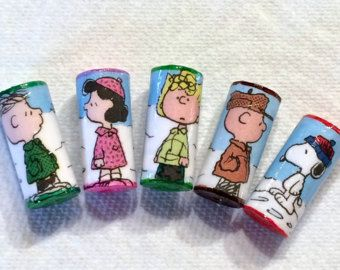 Peanuts Character Beads Charlie Brown Snoopy Linus Lucy Schroeder