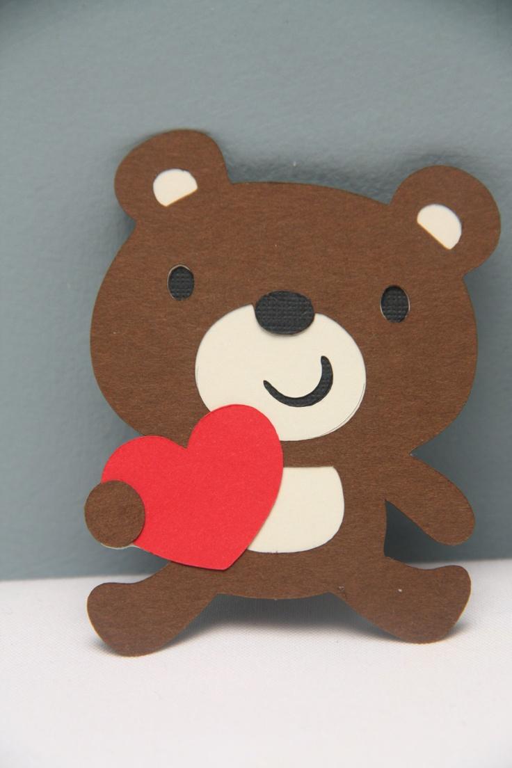 Set of 12 Valentine's Bears. $5.00, via Etsy.