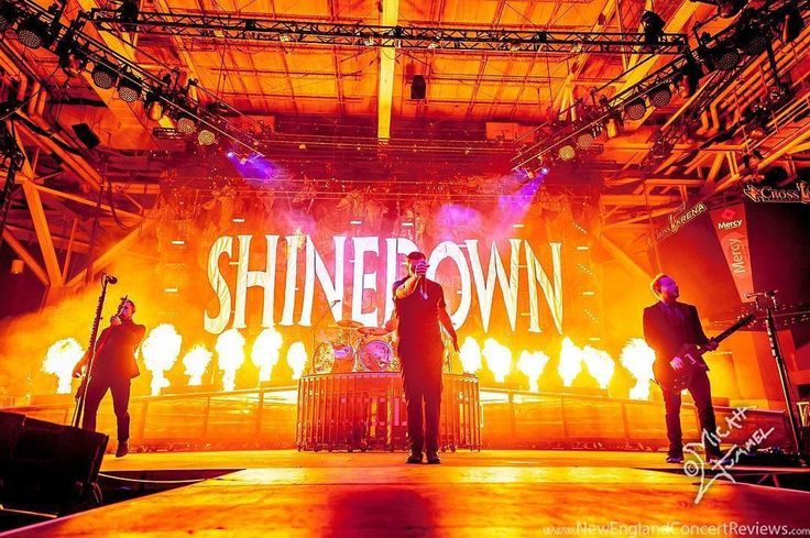 #Repost @newenglandconcertreviews: #Shinedown @ the Cross Insurance Arena - ME @shinedown @cross_arena Photographer: Micah Gummel See more coverage from the show at newenglandconcertreviews.com   Barry Kerch Brent Smith Eric Bass Shinedown Shinedown Nation Shinedowns Nation Zach Myers