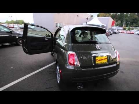 DT744048 | 2013 Fiat 500 Pop  | Rairdon's FIAT of Kirkland | Olive Green