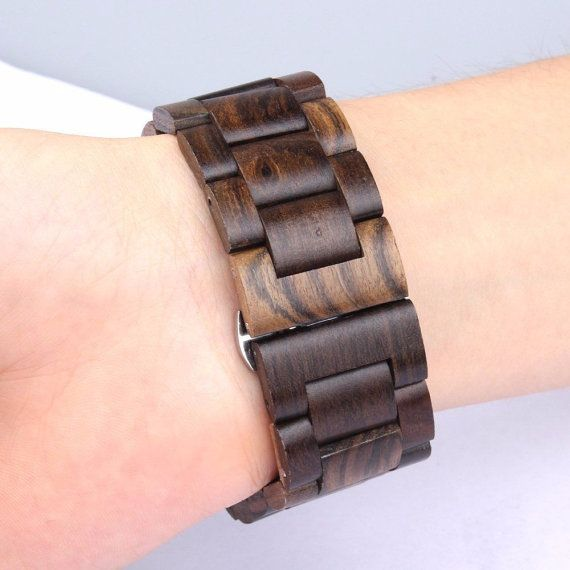 2016 For Apple Watch special wood watch band strap band for iWatch 42mm 38mm link bracelet wooden band butterfly buckle  FREE SHIPPING  For Apple Watch special wood watchband strap band for iWatch 42mm 38mm link bracelet wooden band  Key features for Apple Watch42MM Bands Straps Special New Design Ebony Watch Bands: 1. Process from pure natural ebony wood material, enviroment friendly. 2.With stainless steel butterfly closure, watch adapters included 3. Color: Black ebony, ebony  Item…