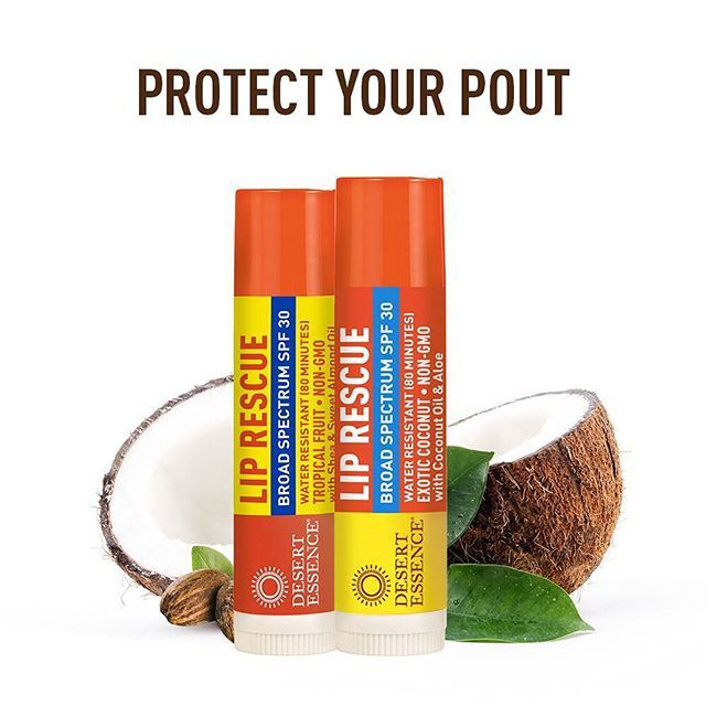 Introducing NEW SPF Lip Balms with UVA/UVB Broad Spectrum SPF 30 protection! Pack these Non-GMO goodies in your beach bag or for your next outdoor adventure. Moisturizing ingredients like Coconut Oil and Argan Oil nourish lips while Zinc Oxide protects them from the sun. #lipbalm #spf #lips #beauty