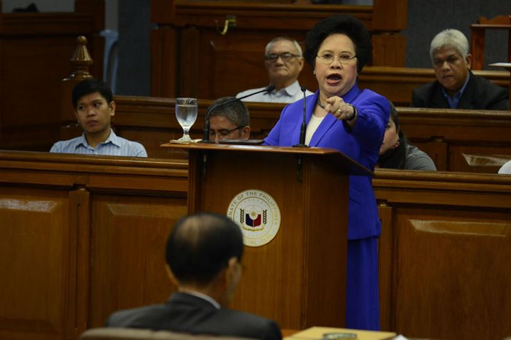 Following is the video and full text of Sen. Miriam Santiago privilege speech delivered on Wednesday, December 4, 2013 at the Senate of the Philippines.