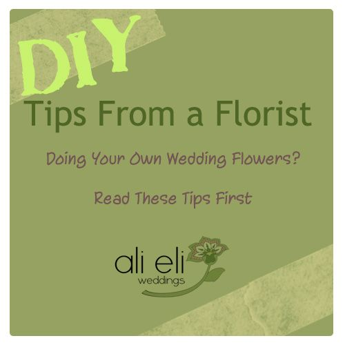Great Insight Into HOW TO Do Your Own Wedding Flowers This DIY Post Is Very