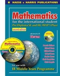 This book is intended to prepare students for the Math SL or Math HL courses at IB Diploma level. It aims to cover the Presumed Knowledge required for both courses. The second edition is more rigorous than the first edition to help prepare students more thoroughly for Math HL at Diploma level. The accompanying CD has links to Review and Extension Chapters, demonstrations, simulations, graphing and geometry software and SELF TUTOR for every worked example.