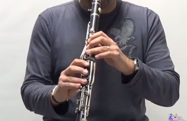 Greek Clarinet  Video lesson   Karagouna basic