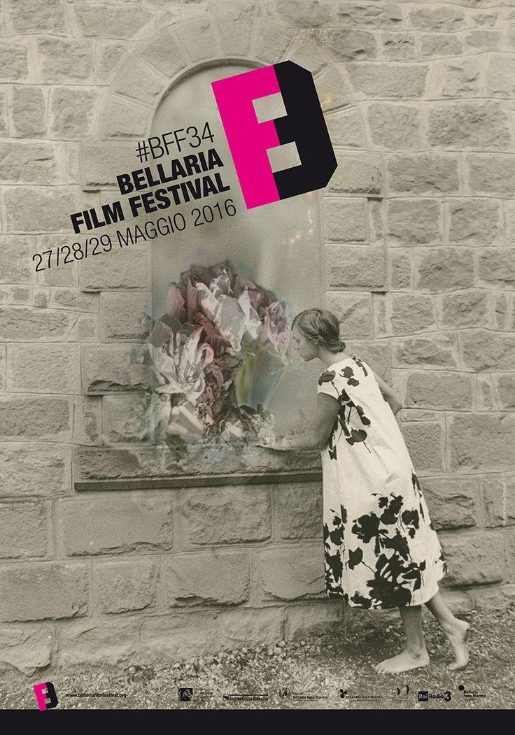 Bellaria Film Festival #BFF34 • 27-29 maggio 2016. Immagine di Valentina D'Accardi, progetto grafico di Sara Lanzoni.