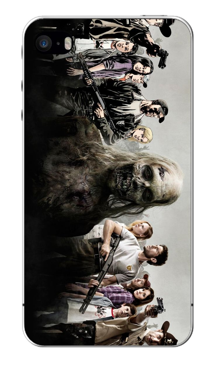 The walking dead white hard cases for IPHONE 5 5s +free shipping //Price: $7.95 & FREE Shipping //     #twd