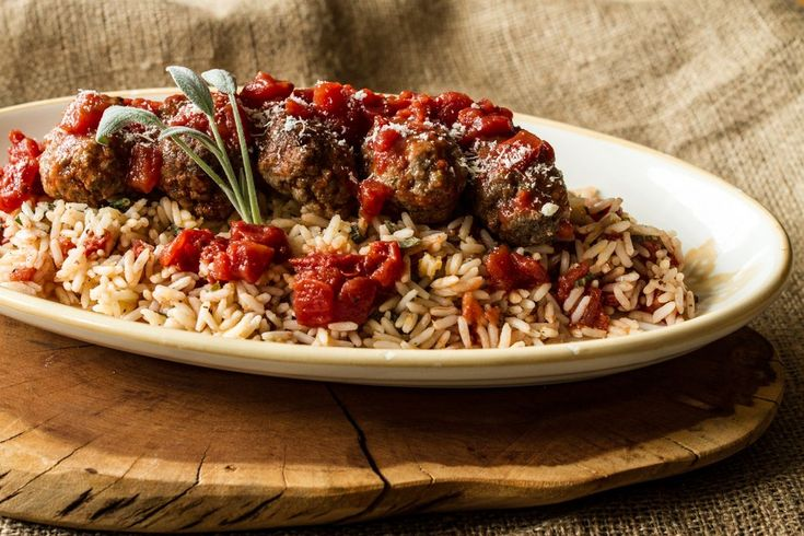 Oriental Meatballs with Sage and Brown Butter Rice by greek chef Akis. Such an aromatic and greek authentic recipe that everyone will love.