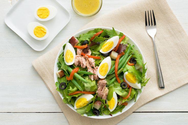 Salade niçoise | Lesoeufs.ca