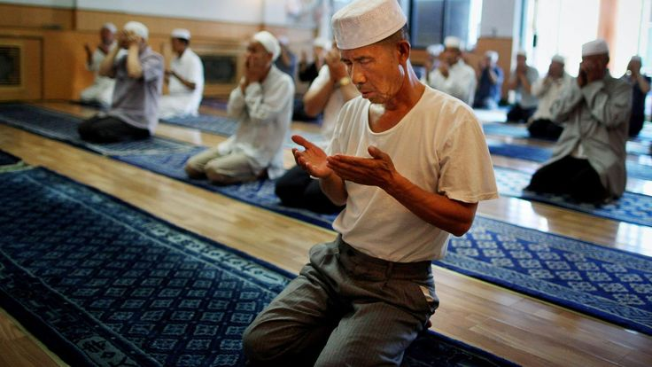China's ancient city where Islam took hold (BBC article, Silk Road) Xi'an, Great Mosque, China, Hui people (Credit: Credit: Feng Li/Getty)