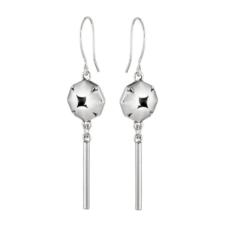 Kalevala Jewerly / Origami Flower Earrings