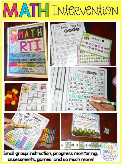 Math Intervention ideas (RTI)                                                                                                                                                      More