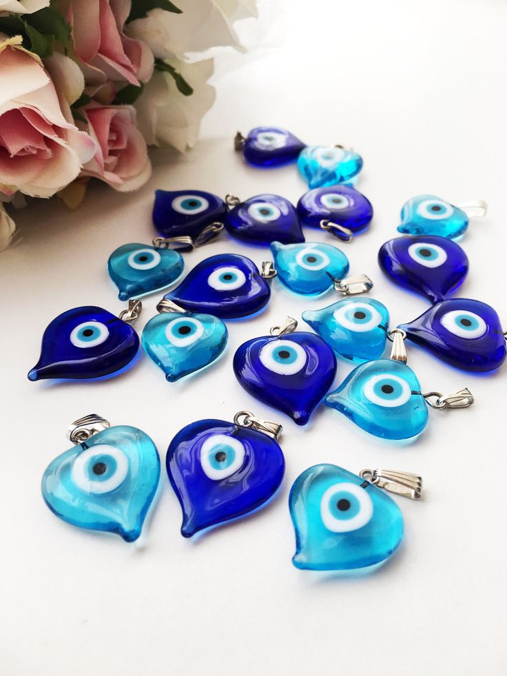 Heart evil eye beads, blue evil eye charm, dark blue turquoise evil eye beads, glass evil eye charms, malacchio beads, ojoturco charms by EvileyeFavorSupplies on Etsy https://www.etsy.com/listing/552616788/heart-evil-eye-beads-blue-evil-eye-charm #evileye #evileyes #heartcharm #evileyebead #turquoisebeads #glassevileye #necklacecharm #evileyecharm