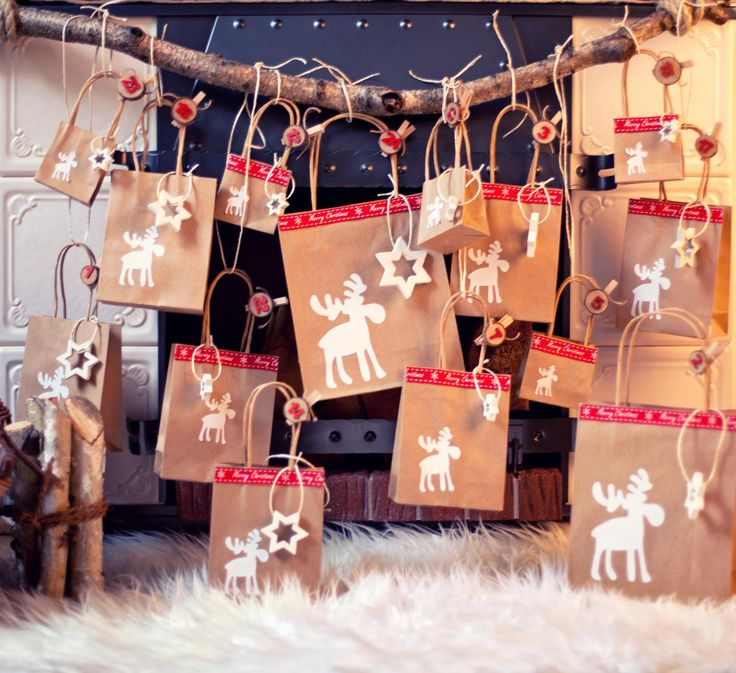 Ihr wollt vor allem Gutscheine und liebe Grüße im Adventskalender verstecken? Dann ist ...