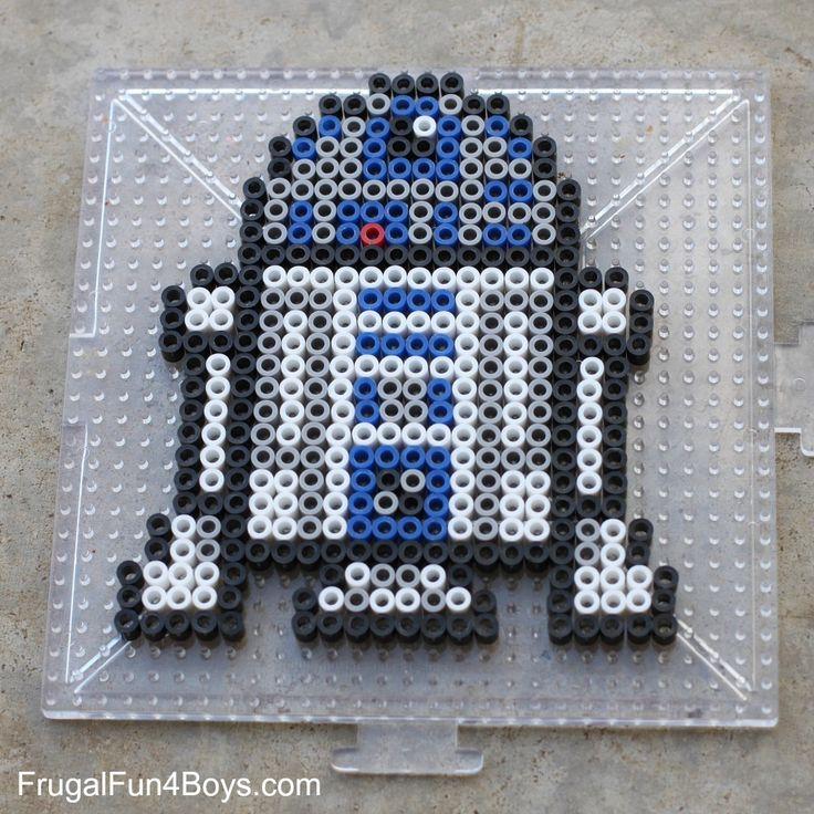 Star Wars Perler Beads Patterns - Frugal Fun For Boys