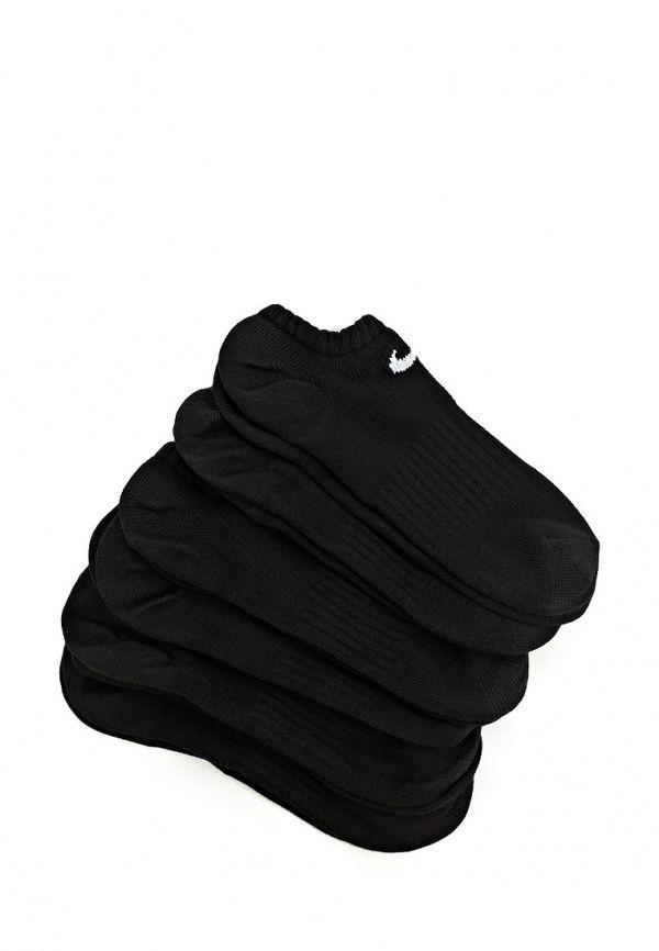 Носки Nike / Найк женские. Цвет: черный. Сезон: Осень-зима 2014/2015. С бесплатной доставкой и примеркой на Lamoda. http://j.mp/1xhYLdg