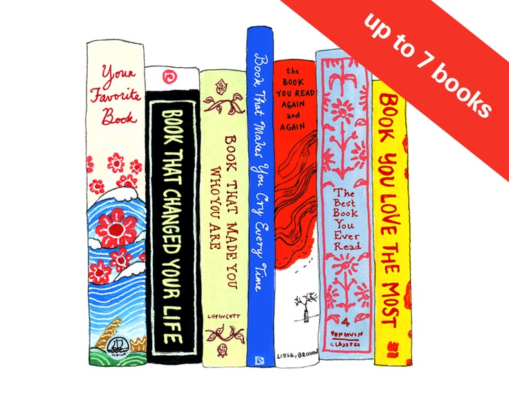 the ideal bookshelf. <3