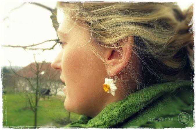 polymer clay earrings ~ brlogarka
