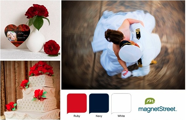 Military Wedding Color Palette
