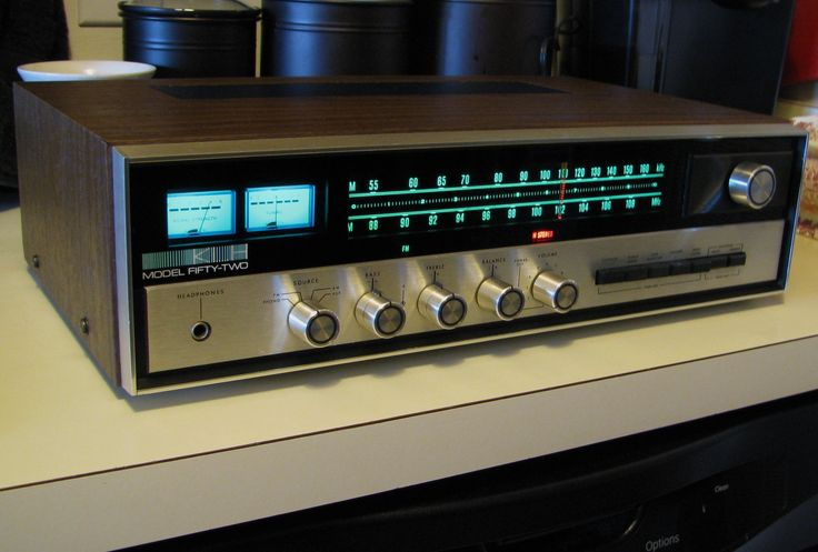 Klh Model Fifty Two Am Fm Stereo Receiver In 2019 Stereo