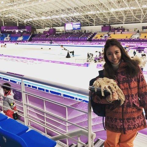 #三田友梨佳 #フジテレビ系列 昨日はスピードスケート女子1500mの取材へ。 メダル獲得の瞬間に立ち会いました!!! 高木美帆選手、銀メダル獲得おめでとうございます! でも決してこれで終わりではありません。 このあとも1000mとチームパシュートでの活躍に期待大です!! 応援しましょう!!! #平昌 #オリンピック