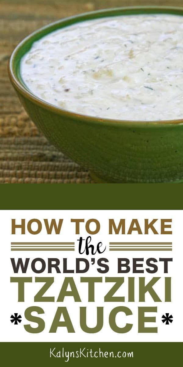 Here's all you need to know about How to Make the World's Best Tzatziki Sauce (G…