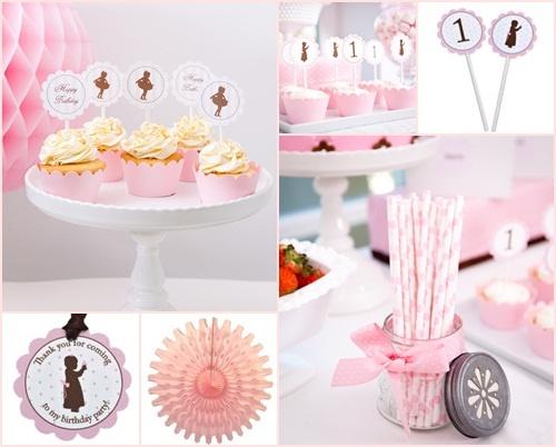 sensacional mesa para fiesta de primer cumpleaños 1 ¡Sensacional mesa para fiesta de primer cumpleaños!
