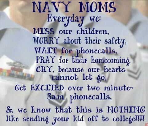 Navy Mom Quotes | Navy mom | sayings