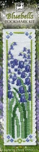 Bluebells Bookmark Cross Stitch Kit - Textile Heritage