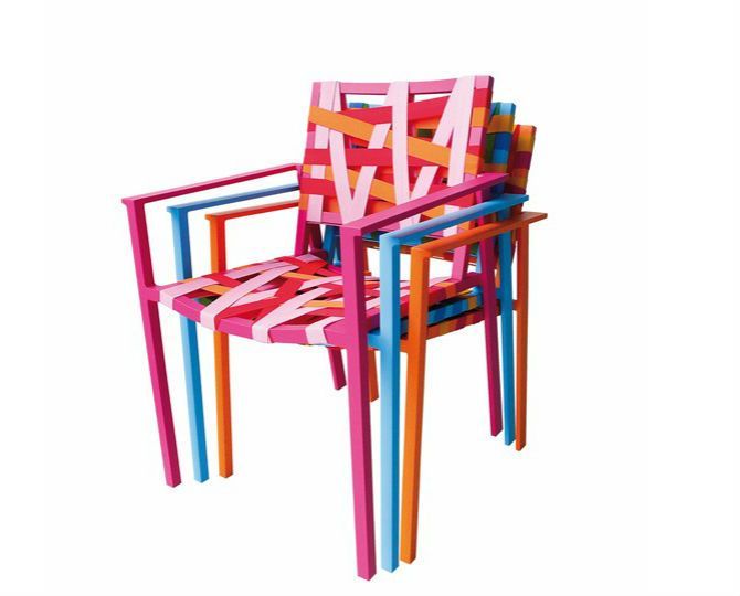 Agatha Ruiz de La Prada Reinterprets Chair Design Collection #modernchairs #designerchairs #metalchairs side chair   See more at http://modernchairs.eu/agatha-ruiz-prada-reinterprets-chair-design-collection/