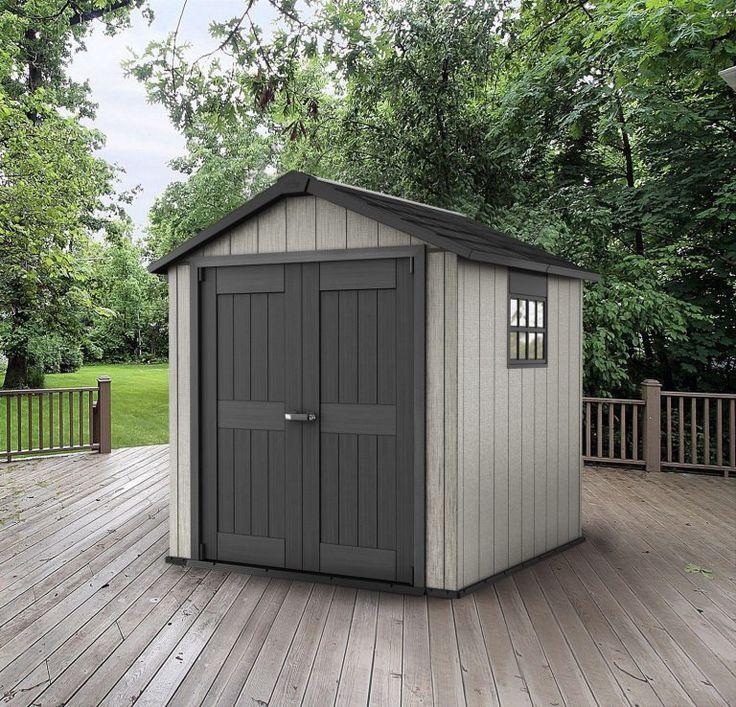 plastic shed 77 quality plastic sheds keter oakland 75 x 7 ft