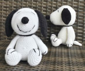 Snoopy Häkelanleitung