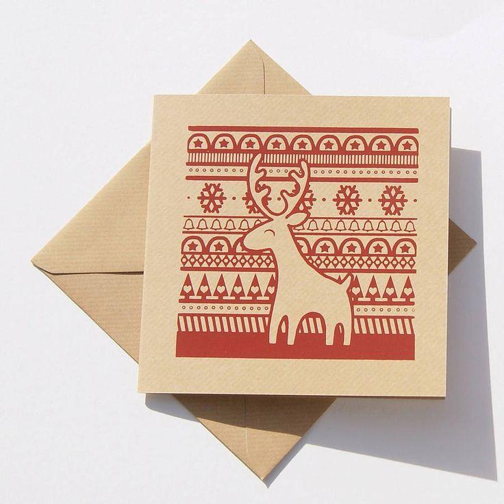 reindeer christmas cards - Google Search | Christmas Card ideas ...