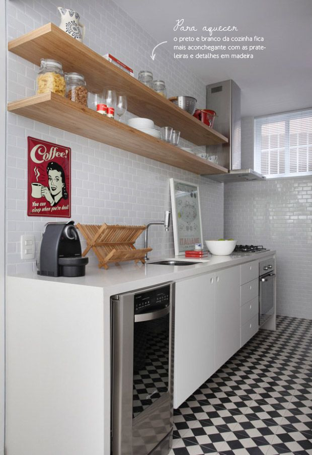 small vintage kitchen #decor #cozinhas #kitchens