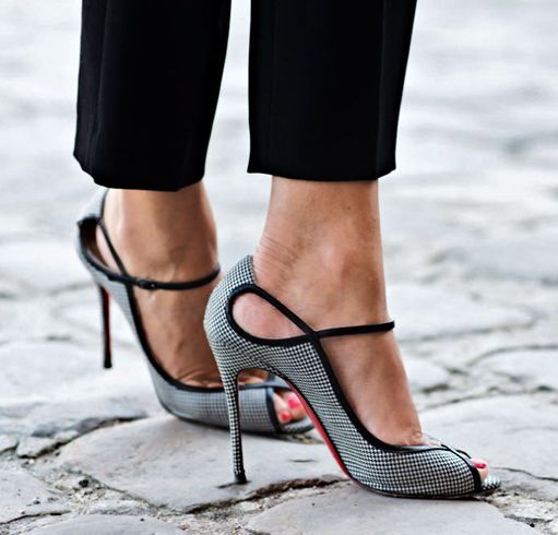 Tears To The Eyes FAB!!! Thursday – Ankle Strap Heel