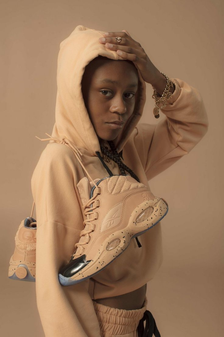 The Answer, the iconic Reebok sneaker created for NBA superstar Allen Iverson is 20 years old and some people very special to him are celebrating it. Designer Melody Ehsani put her own special stam…