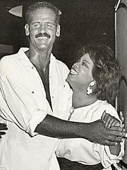It takes a very self-assured man to be with Oprah!   Together since 1986 -- Oprah & Stedman Graham.