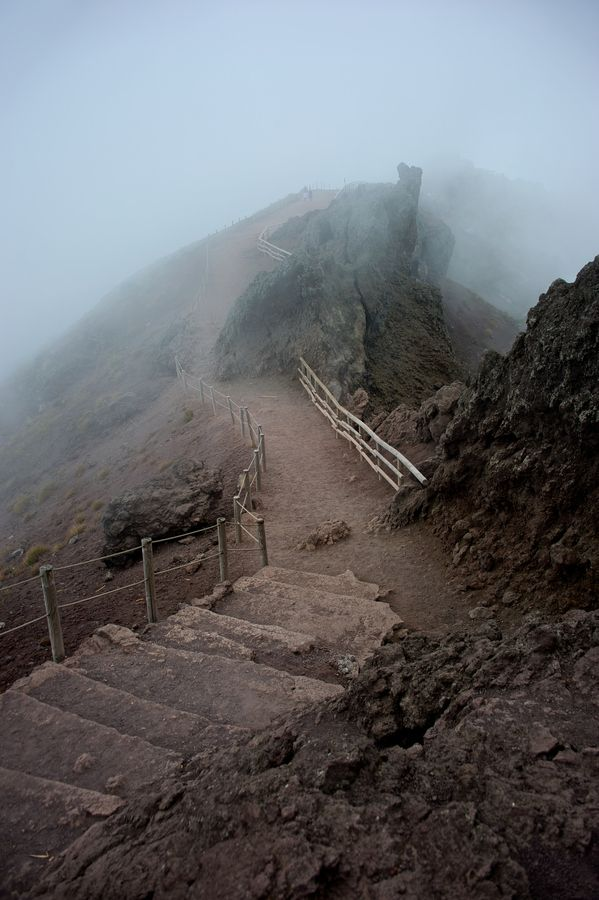 Photo Mt. Vesuvius | Volcano Fog  by Pascal Pro on 500px