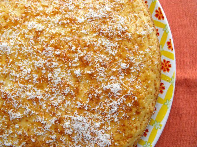 Bolo de coco e laranja - http://gostinhos.com/bolo-de-coco-e-laranja/