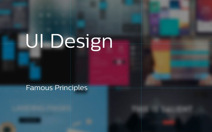 In this article, trying to collect the famous principles in design & how it used in UI design, principles will help you to create something…