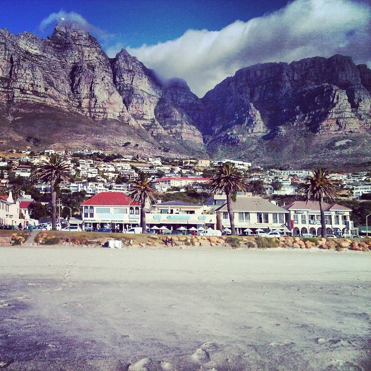 Camps Bay & the 12 Apostles. Cape Town.