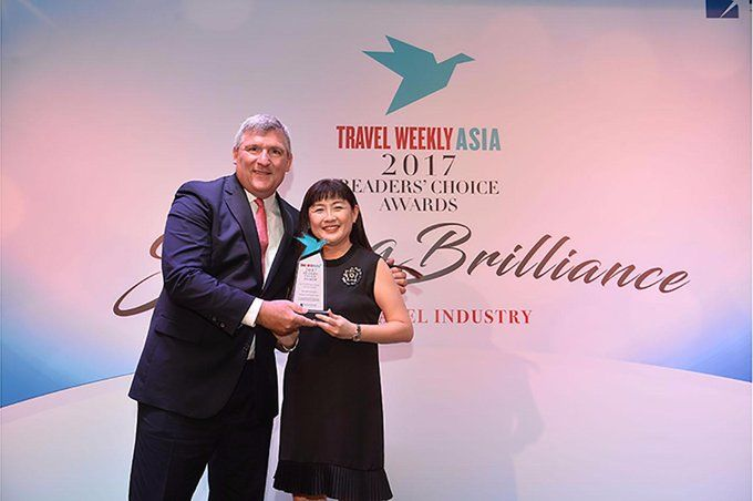 Marriott International Named Best International Hotel Chain at Travel Weekly Asia Readers' Choice Awards spr.ly/60148hy0j