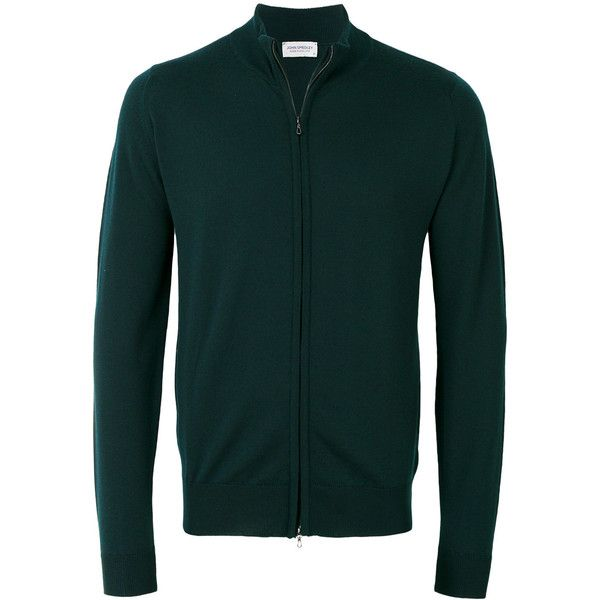 John Smedley zip cardigan (€275) ❤ liked on Polyvore featuring men's fashion, men's clothing, men's sweaters, green, mens zipper sweater, mens green sweater, mens full zip sweater, mens zip cardigan sweater and mens cardigan sweaters
