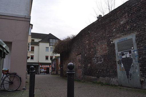 Krefeld - Marktstraße Gasse Hochstraße