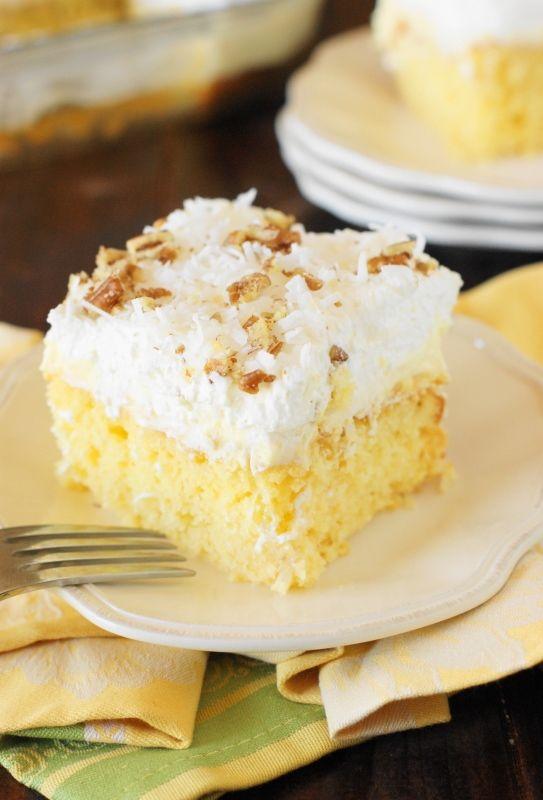 Creamy Hawaiian Dream Cake on MyRecipeMagic.com
