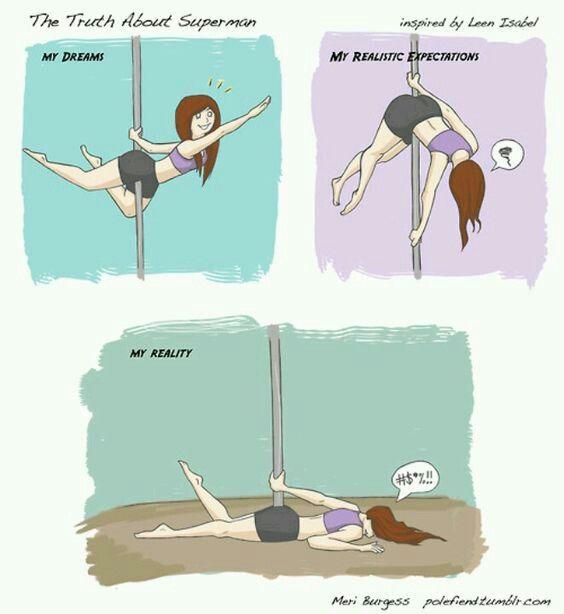 pole dance humour